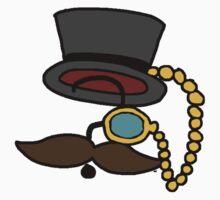 Mysterious Fancy Man  One Piece - Short Sleeve
