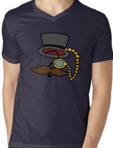 Mysterious Fancy Man  Mens V-Neck T-Shirt