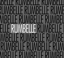 Rumbelle white name by agosdesigns
