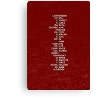 Liverpool FC - You'll Never Walk Alone Canvas Print