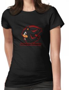 Shadow the Hedgehog -bust- Womens Fitted T-Shirt