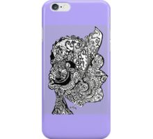 Abstract Sketch  iPhone Case/Skin