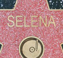 Selena Hollywood Star Sticker