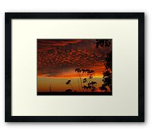 """Morning Glow 1"" Framed Print"