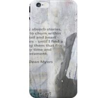 Walter Dean Myers iPhone Case/Skin