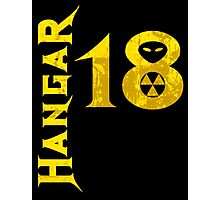 Hangar 18 Photographic Print