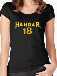 Hangar 18 Women's Fitted Scoop T-Shirt
