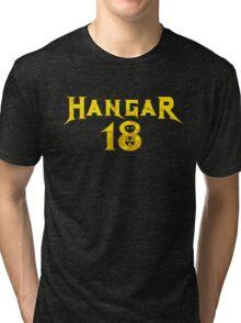Hangar 18 Tri-blend T-Shirt