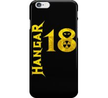 Hangar 18 iPhone Case/Skin