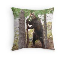 I am strong.. Throw Pillow