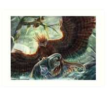 Scorpion Tailed Hawk Art Print