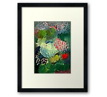 Dark, heavy, humid, stormy...just a normal Summer in the Tropics Framed Print