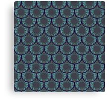 Fancy Fish Scales  Canvas Print