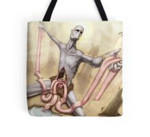 Plight of the Starving Buddha Tote Bag