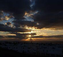 Puerto Del Carmen Sun Rays by Allen Lucas