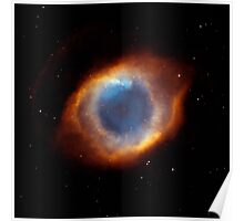 Hubble Space Telescope Print 0012 - Iridescent Glory of Nearby Helix Nebula  - hs-2003-11-a-full_jpg Poster