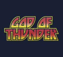 God Of Thunder Kids Tee