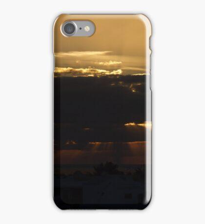 Puerto Del Carmen Sun Rays Too iPhone Case/Skin