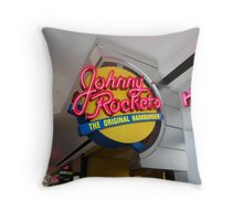 Hamburgers Throw Pillow