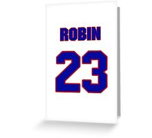 National baseball player Robin Ventura jersey 23 Greeting Card