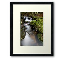 Lasso at Cement Creek Framed Print