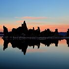 Mono Lake Sunset by Ann  Van Breemen