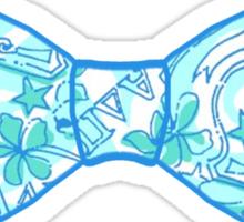 Alpha Delta Pi Bow Tie Sticker