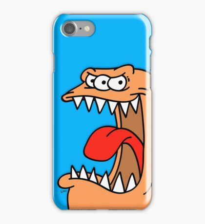 Huge Mouth Critter. iPhone Case/Skin