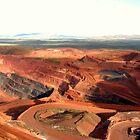 Pilbara - Tom Price Mine  by Caroline Scott
