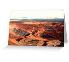 Pilbara - Tom Price Mine  Greeting Card