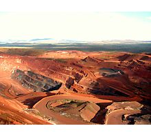 Pilbara - Tom Price Mine  Photographic Print