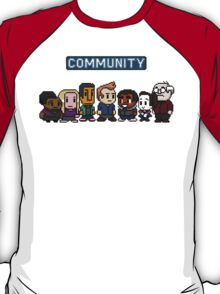 Community - 8Bit T-Shirt