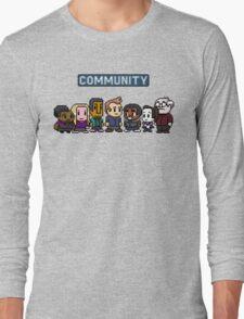 Community - 8Bit Long Sleeve T-Shirt