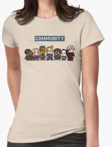 Community - 8Bit Womens Fitted T-Shirt