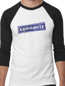 Community Logo Men's Baseball ¾ T-Shirt