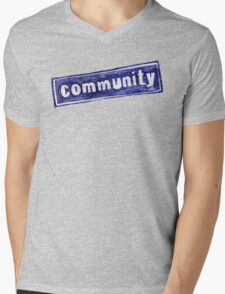 Community Logo Mens V-Neck T-Shirt