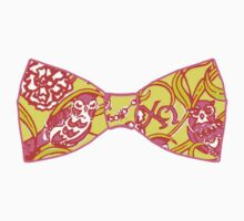 Chi Omega Bow Tie by Colette Gress