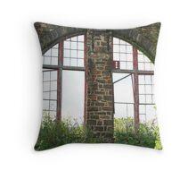 Bethlehem Window Throw Pillow