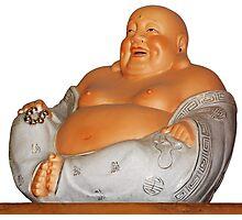 Laughing Buddha Photographic Print