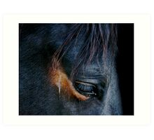 Equine Abstract Art Print