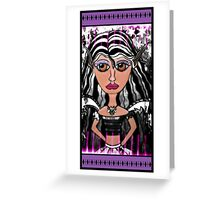 Alalia The Quiet One Greeting Card
