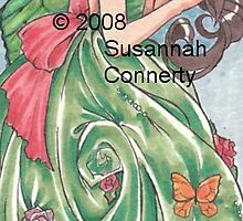 The Green Dress by SusannahJane