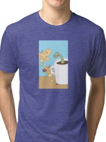 It's not just my morning coffee... Tri-blend T-Shirt