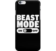 Beast Mode On iPhone Case/Skin