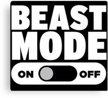 Beast Mode On Canvas Print