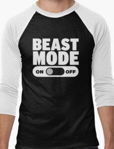 Beast Mode On Men's Baseball ¾ T-Shirt
