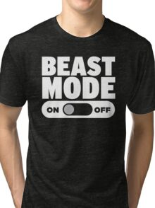Beast Mode On Tri-blend T-Shirt