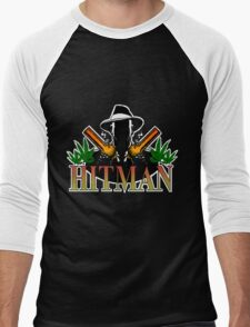 Hitman Shirt Men's Baseball ¾ T-Shirt