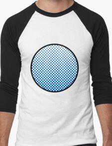 Lichtenstein dot Men's Baseball ¾ T-Shirt