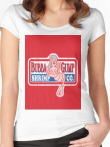 Bubba-Gump Shrimp Women's Fitted Scoop T-Shirt